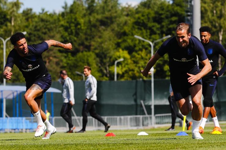 England Training Session - 27 Jun 2018